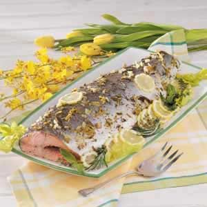 Baked Whole Salmon