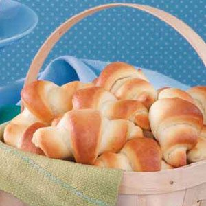 Bread Machine Crescent Rolls Recipe