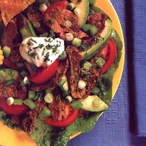 Beef Stir-Fry Salad Main Dish Recipe