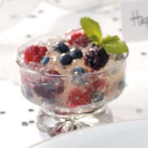 Berries in Champagne Jelly Recipe