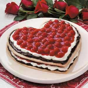 Chocolate Cherry Heart Recipe