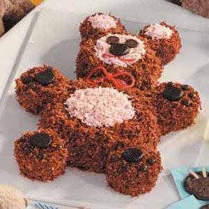 Brown Bear Cake