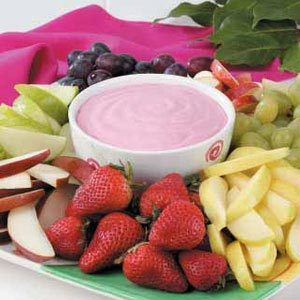 how to make fruit dip fruits in season