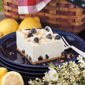 Lemon Chiffon Blueberry Dessert Recipe
