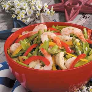 Vegetable Shrimp Salad Recipe