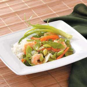 Sassy Shrimp Stir-Fry Recipe