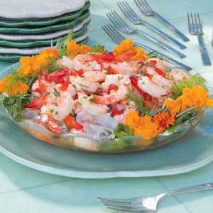 Herbed Shrimp Appetizer