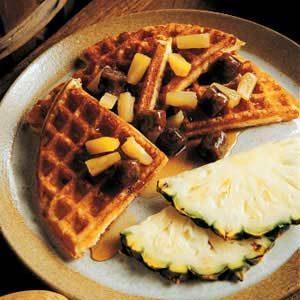 Porky-Pine Waffles Recipe