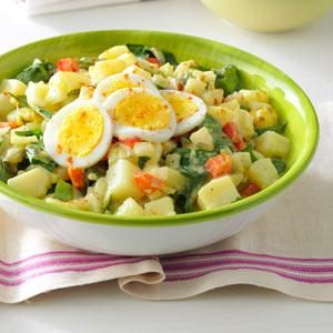Dandelion Potato Salad Recipe