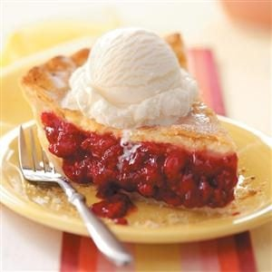 Favorite Fresh Raspberry Pie Recipe