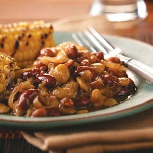 Saucy Calico Beans Recipe