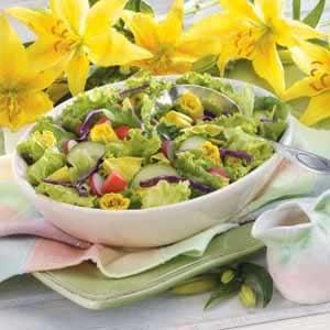 Daylily Salad Recipe