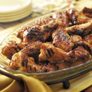 Grilled Glazed Drummies Recipe