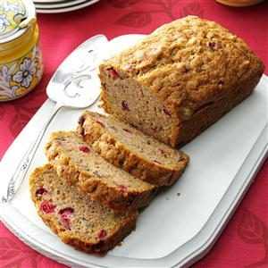Cranberry Zucchini Bread Recipe