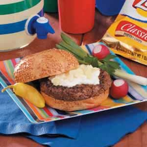 Chip 'n' Dip Burgers Recipe