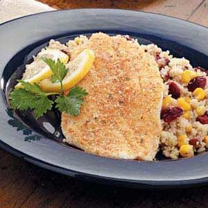 Microwaved Orange Roughy Recipe