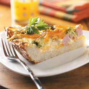 Potato Crust Quiche