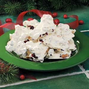 Cranberry Nut Bark Recipe