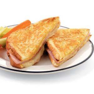 Ham 'n' Swiss Monte Cristo Recipe