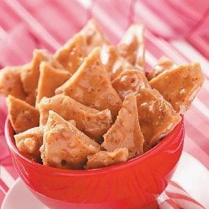Cinnamon Walnut Brittle Recipe