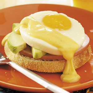 Avocado Eggs Benedict Recipe