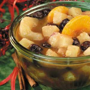 Warm Curried Fruit