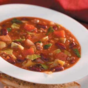 Wintertime Beef Soup Recipe