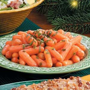 Honey Orange Glazed Carrots Recipe
