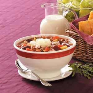Italian Chili Recipe photo by Taste of Home