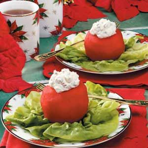 Rosy Red Christmas Apples Recipe