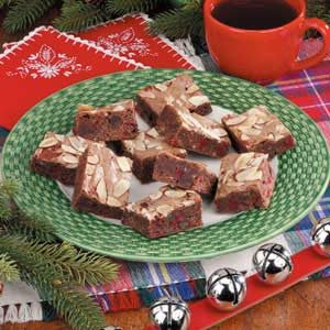 Fudgy Cherry Brownies Recipe