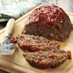 Sun-Dried Tomato Meat Loaf Recipe