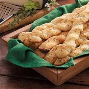 Italian Garlic Breadsticks Recipe