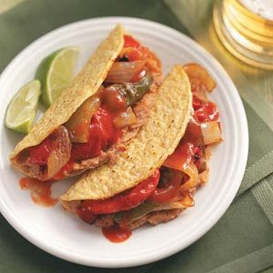 Vegetarian Tacos Recipe photo by Taste of Home