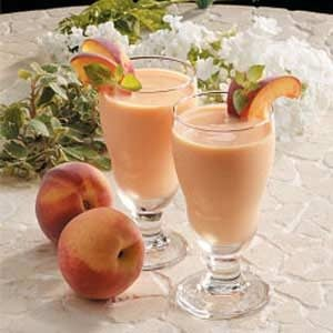 Peachy Fruit Smoothies Recipe