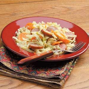 Sausage Noodle Supper Recipe