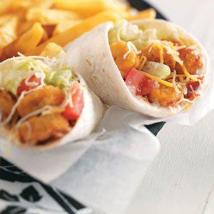 Southwest Chicken Wraps Recipe