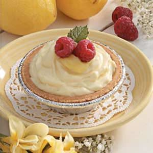Raspberry-Lemon Cheese Tarts Recipe