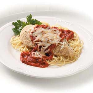 Baked Chicken with Pasta Sauce