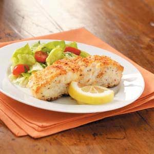 Golden Sea Bass Recipe