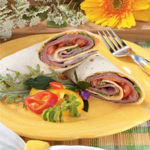 Roast Beef Tortilla Wraps Recipe