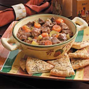 Chunky Sirloin Beef Stew Recipe