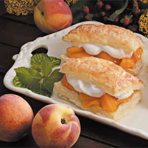 Peach-Filled Pastries