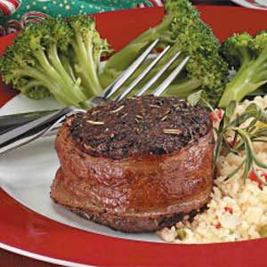 Bacon-Wrapped Beef Filets Recipe
