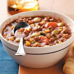 Quick Beef Vegetable Soup Recipe
