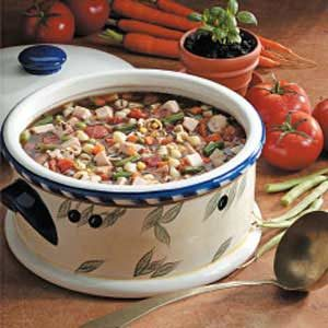 Basil Turkey Soup Recipe