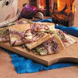 Red Onion Focaccia Recipe