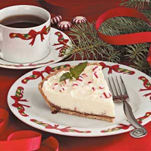 White Chocolate Mint Pie Recipe