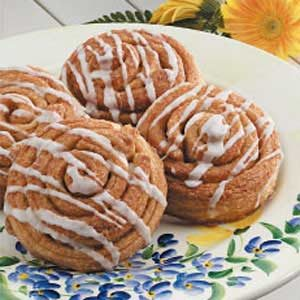 Cinnamon Swirl Rolls Recipe photo by Taste of Home