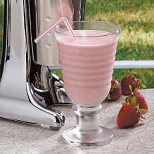 Springtime Strawberry Malts Recipe